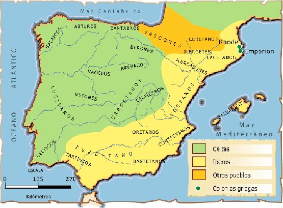 A Península Ibérica - Dos primeiros povos à formação de Portugal