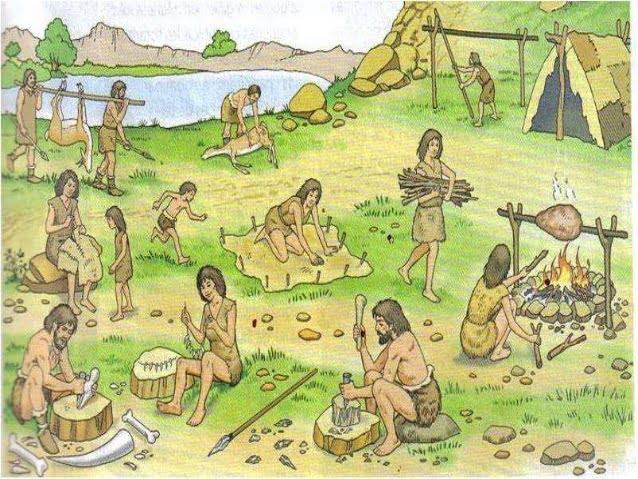 As primeiras sociedades recolectoras