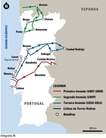 Ficha Informativa – As Invasões francesas (1)