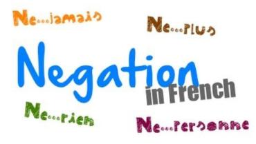 Ficha de Trabalho – L'Expression de la négation (3)