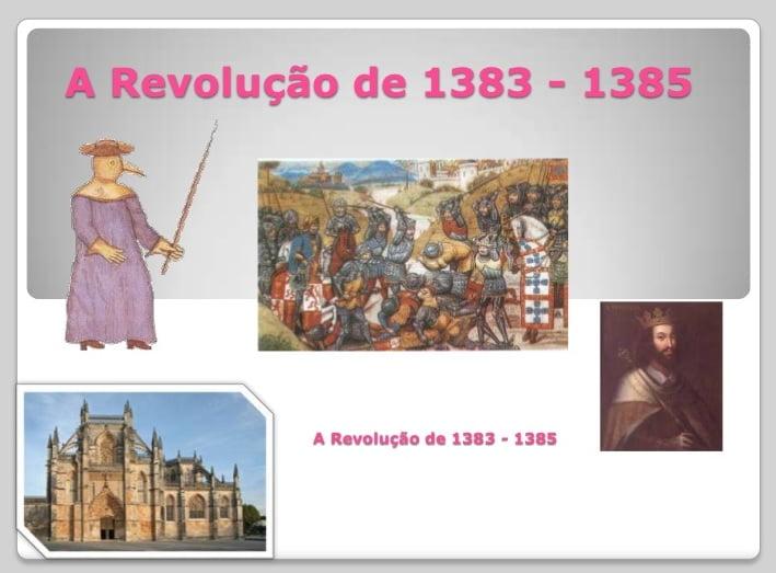 A revolução de 1383 - 1385