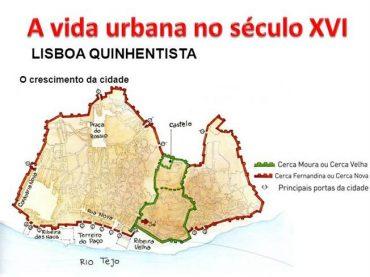 Ficha de Trabalho – A vida urbana do século XVI – Lisboa Quinhentista (3)