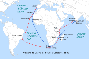 Ficha de Trabalho – Chegada à Índia e ao Brasil (3) – Soluções