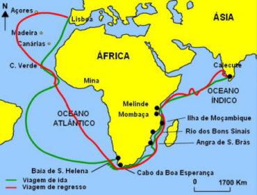 Ficha de Trabalho – De Portugal às Ilhas Atlânticas e ao Cabo da Boa Esperança (3) – Soluções