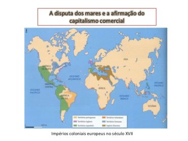 Ficha de Trabalho – Disputa dos mares e a afirmação do capitalismo comercial (1)