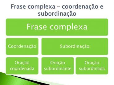 Ficha de Trabalho – Frase complexa (2)