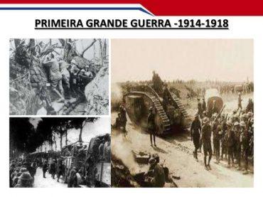 Ficha Informativa – A 1ª Grande guerra