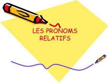 Ficha de Trabalho – Pronoms relatifs (1)