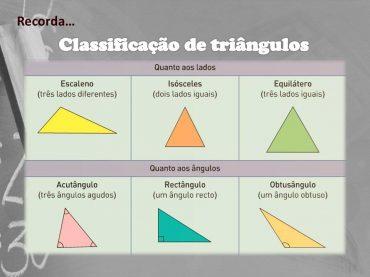 Ficha de Trabalho – Triângulos – Propriedades, classificação e construção (2)