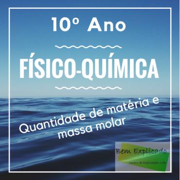 A.1.4 – Quantidade de matéria e massa molar – Ficha de Trabalho (1)