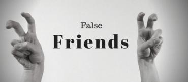 Ficha de Trabalho – False Friends (1) – Soluções