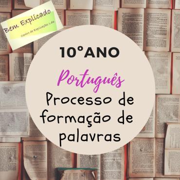 3.9 Processo irregular de Formação de palavras (1) – Ficha Informativa