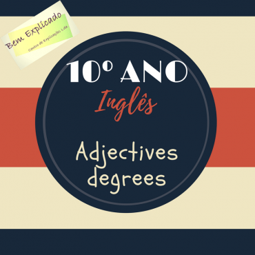 1.14 Ficha de Trabalho – Degrees of adjectives (3)