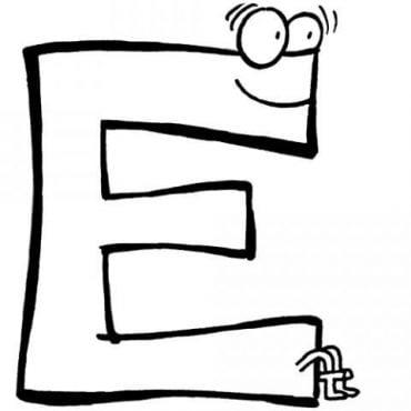 Ficha de Trabalho– Grafismos e grafemas da letra e (2)