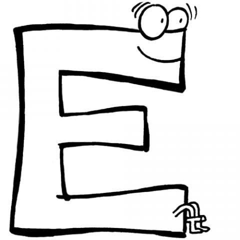 ficha de trabalho grafismos e grafemas da letra e 1 bem explicado